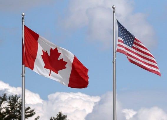 Амерыканска-канадская мяжа зноў адчыняецца