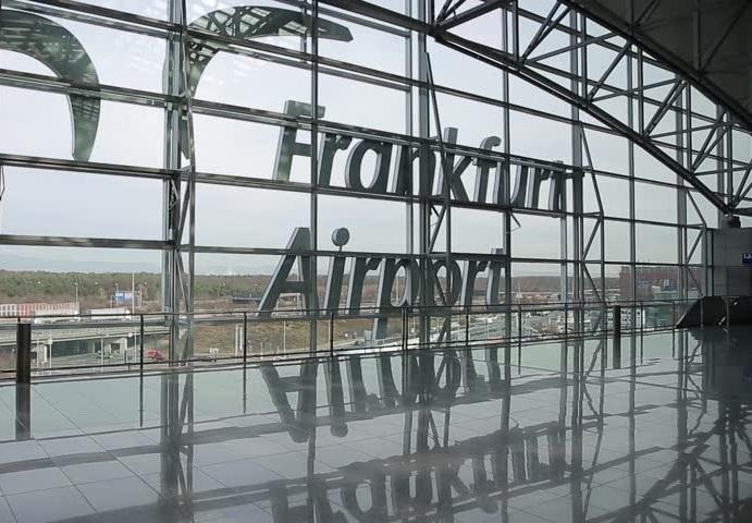 Fraport dia mahazo onitra amin'ny areti-mandringana amin'ny fitazonana ny asany ao amin'ny seranam-piaramanidina Frankfurt