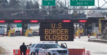 Gli Stati Uniti prorogano la chiusura delle frontiere terrestri con Canada e Messico