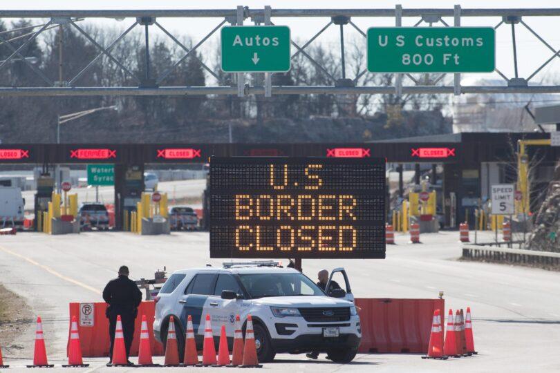 Yhdysvallat jatkaa maarajojen sulkemista Kanadan ja Meksikon kanssa