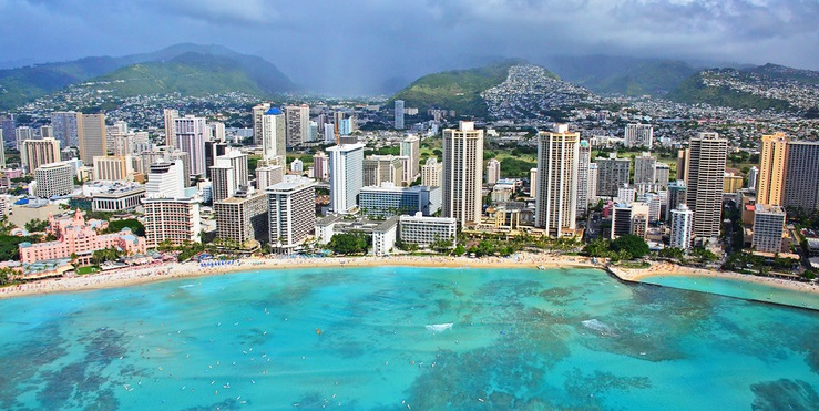 Pendapatan hotel Hawaii naik secara substansial pada Juni 2021