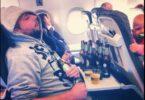 アメリカ人は飛行機の中でより少ない酒を望んでいます