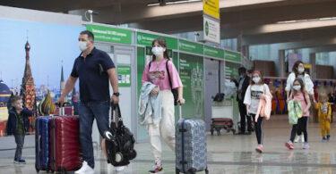 میزان تردد مسافران در ماه ژوئن در فرودگاه شرمتیوو مسکو 378.4 درصد افزایش یافته است