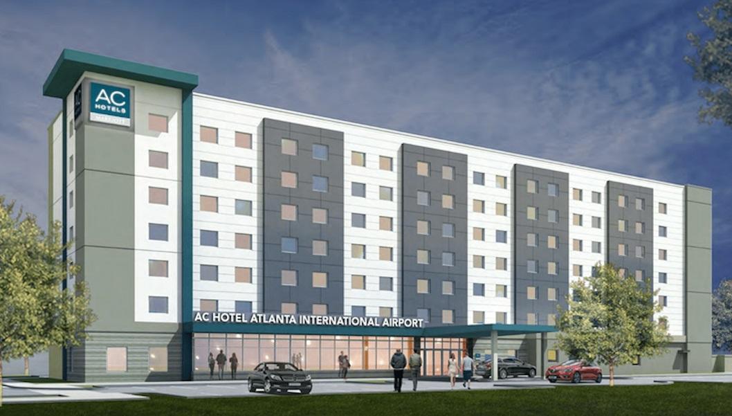 Novi hotel AC by Marriott Atlanta Airport Gateway spreman je za putnike