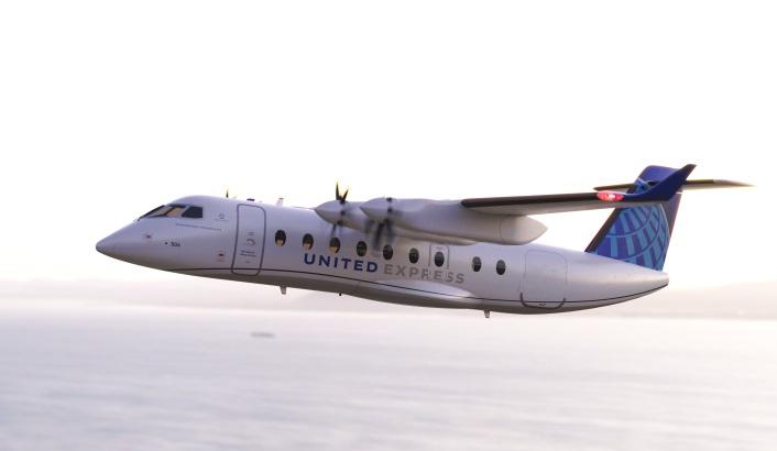 United Airlines: Elektroflugzeug soll bis 2026 fliegen