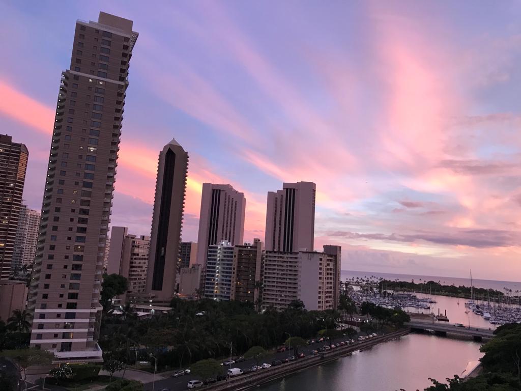 Sunsets fan Hawaï binne prachtich, mar net de bêste?