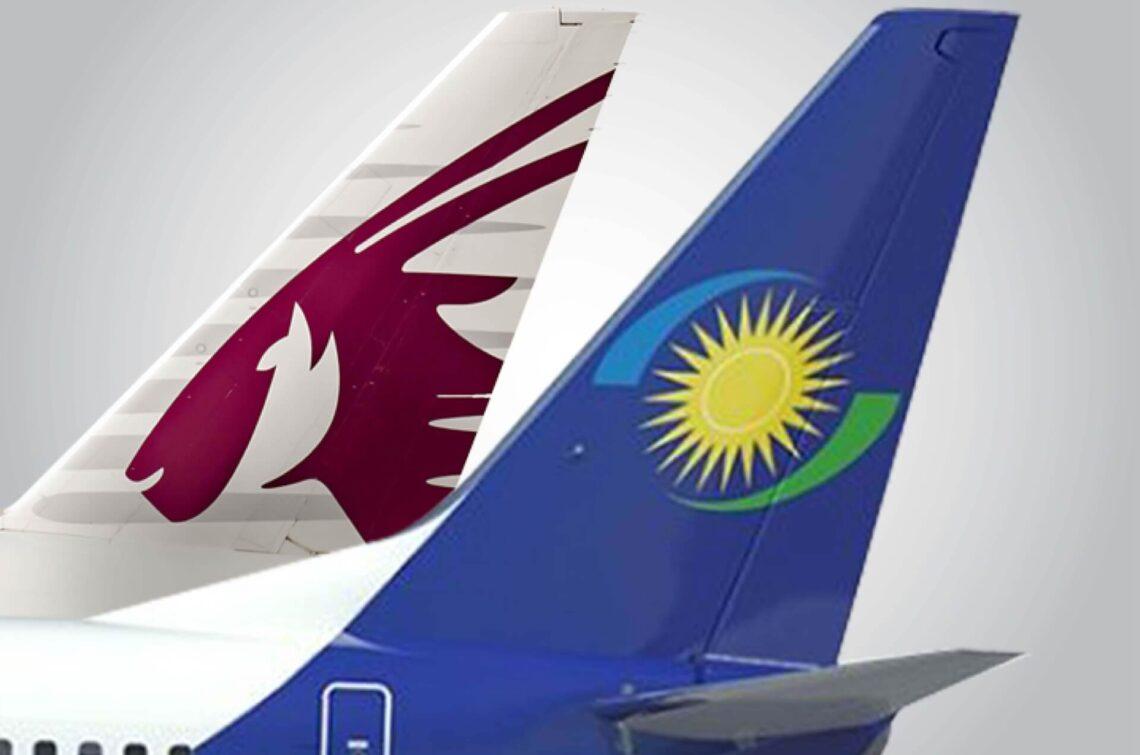 Qatar Airways na RwandAir na -ekwupụta nkwekọrịta njikọta