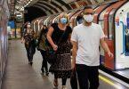 Ke hoʻi nei nā masks mandatory i Ladana Underground
