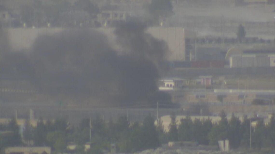 V plamenech: Na letišti v Kábulu vypukl obrovský požár