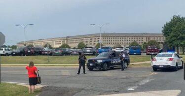 ပစ်ခတ်မှုများ၊ Lockdown တွင် Pentagon အဆောက်အအုံ