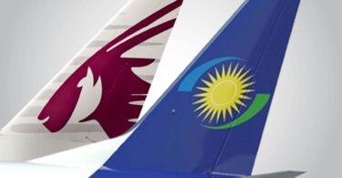 Faʻalauiloa e le Qatar Airways ma RwandAir le maliega i le va o fesoʻotaʻiga