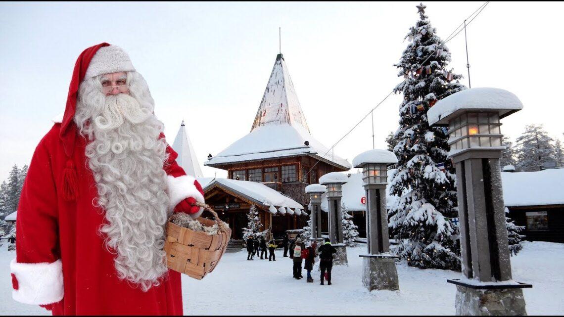Air France ເປີດຖ້ຽວບິນໄປຍັງບ້ານເກີດຂອງ Santa Claus