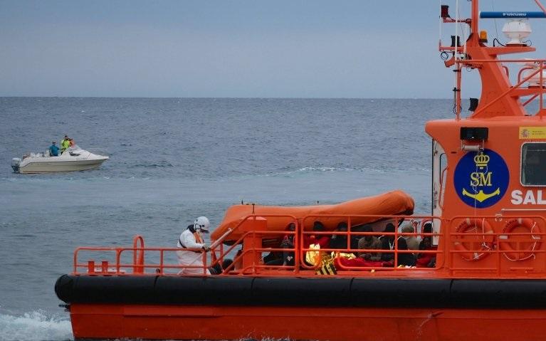 Puhallettava vene uppoaa Kanariansaarten lähellä, 52 ihmistä on kuollut