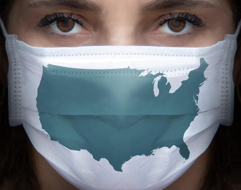 60% des Américains disent que les masques sont là pour rester