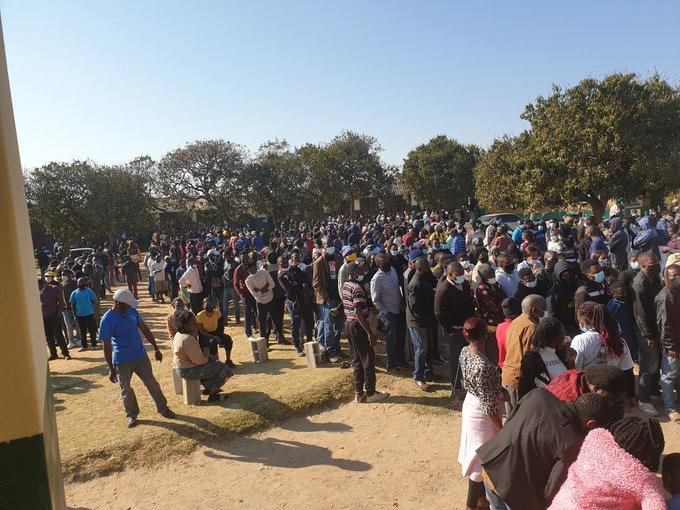 Votazione in Zambia