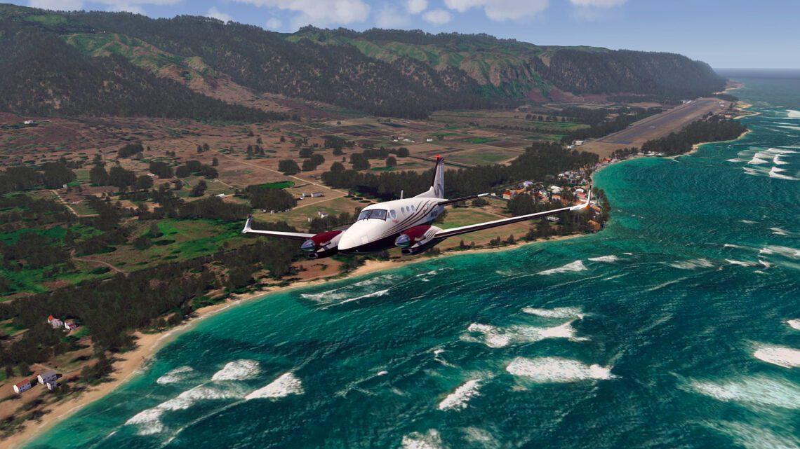 Bandara populer ing Hawaii entuk sewa urip sipil