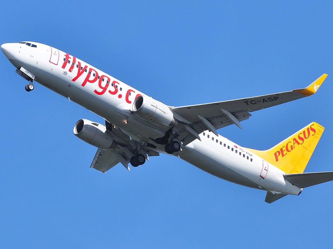 Mear flechten fan Pegasus UK nei Turkije no as Turkije opnij iepent