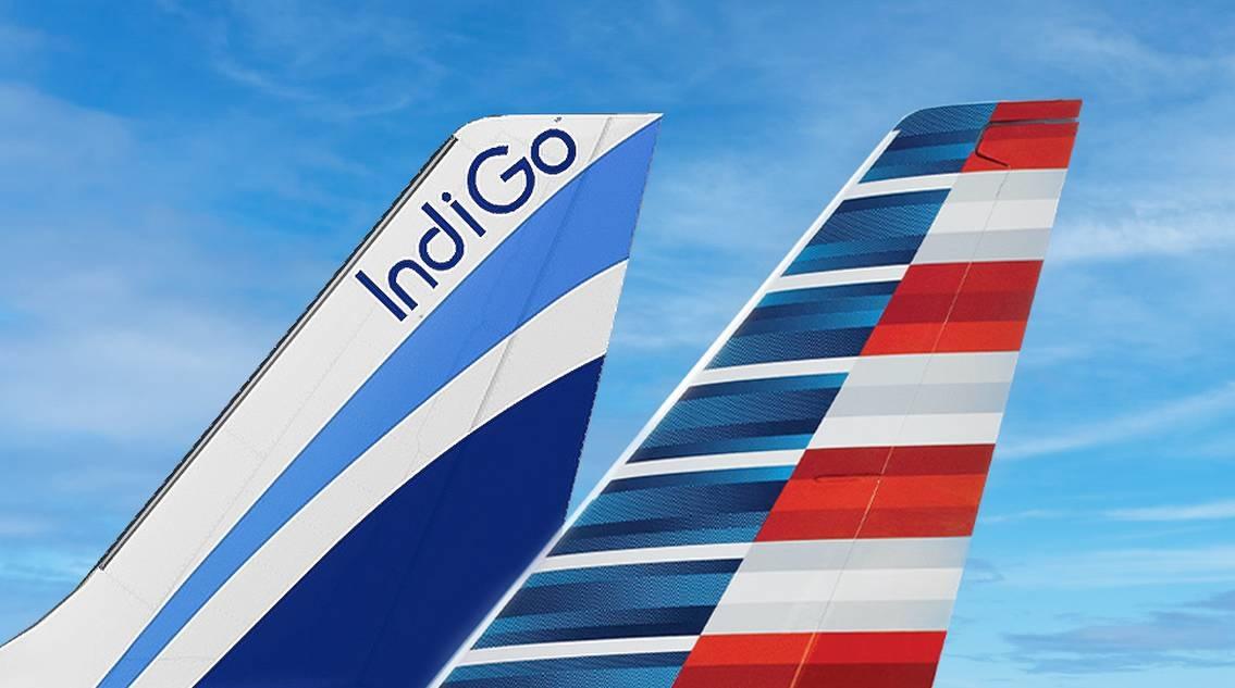 American Airlines jatkaa jakoa IndiGon kanssa Intian lennoilla