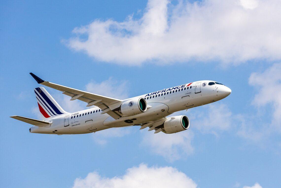Airbus dorëzon avionin e parë të ri A220 në Air France