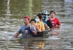 بانکوک در حال آماده شدن برای وقوع سیل بزرگ است