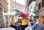 EU oppfordret til å stoppe brudd på Alitalia -arbeidernes rettigheter