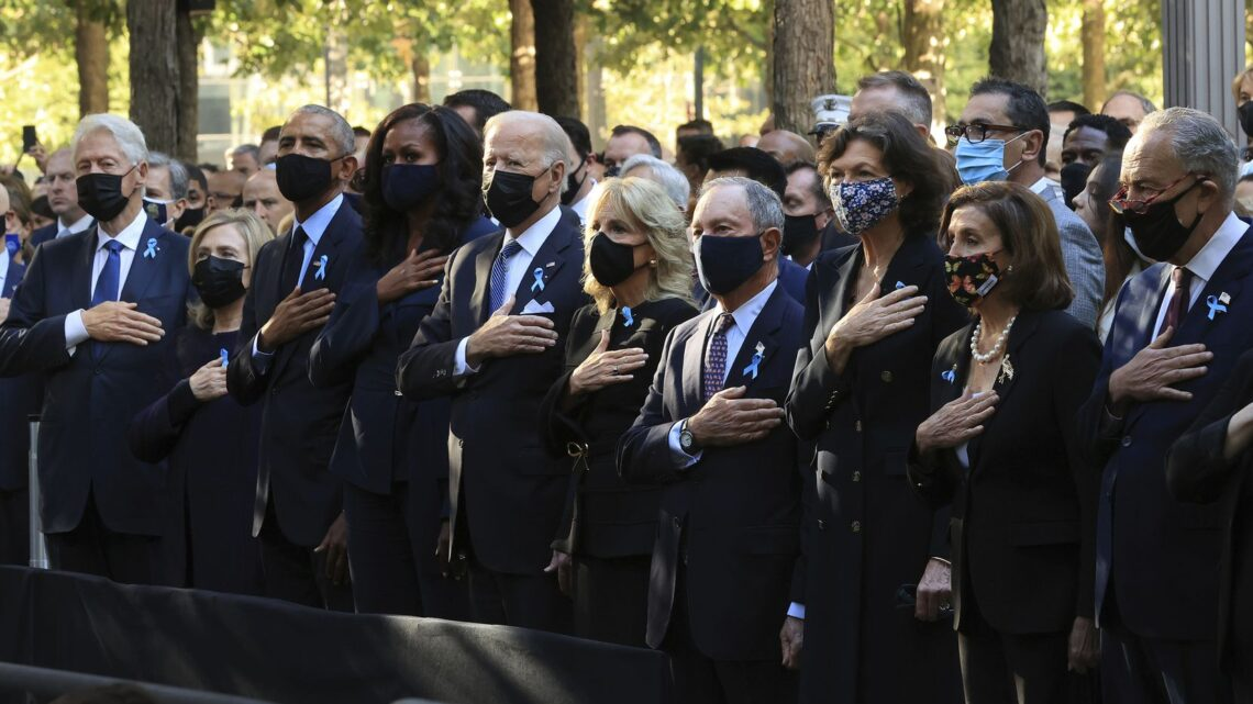 Amerika mengingati 9/11 mangsa 20 tahun selepas serangan pengganas