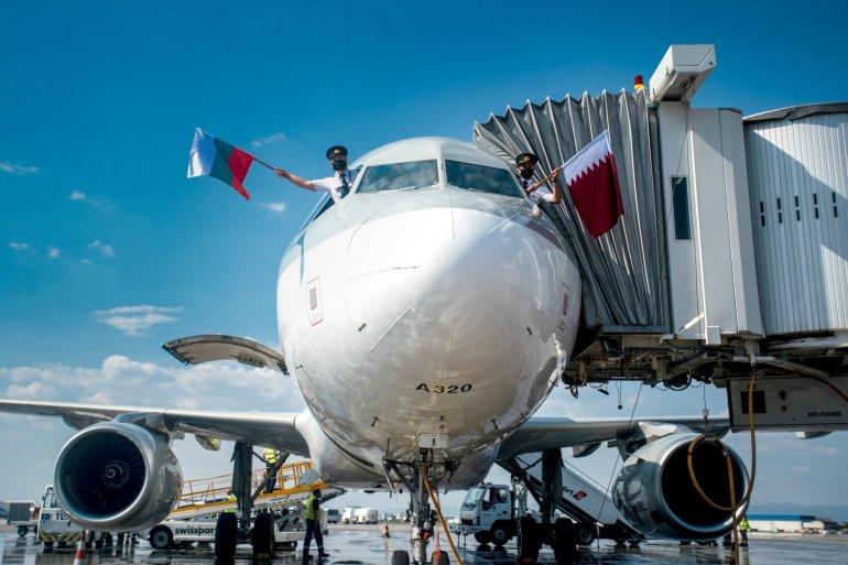从卡塔尔多哈飞往保加利亚索非亚的航班标志着 10 年的成功