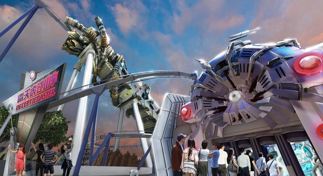Universal Beijing Resort se dnes otevírá veřejnosti