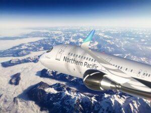 Northern Pacific Airways flugos novajn Boeing-jetojn inter Usono kaj Azio