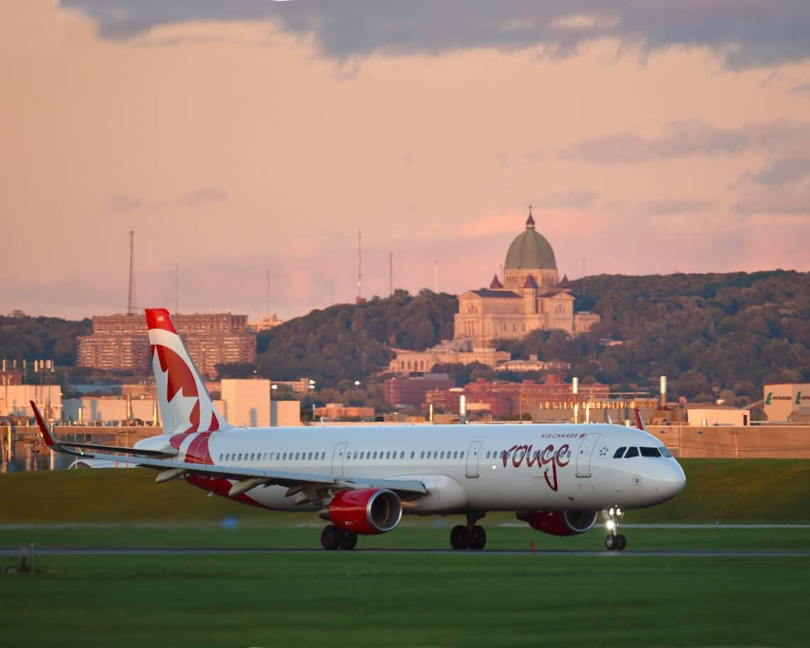 Toronto i Las Vegas, Orlando, Tampa ma Cancun ile Air Canada Rouge nei