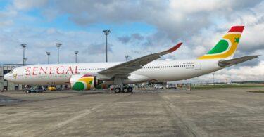 Dakar New Yorki ja Washingtoni Air Senegaliga
