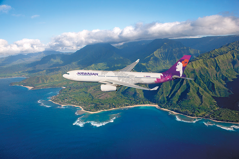 Voos do Havaí para Samoa Americana na Hawaiian Airlines agora