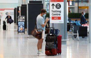 Wielka Brytania zlikwiduje obowiązkowe testy PCR dla zaszczepionych podróżnych