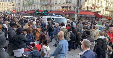 Estación de tren Paris Gare du Nord evacuada por amenaza de bomba.