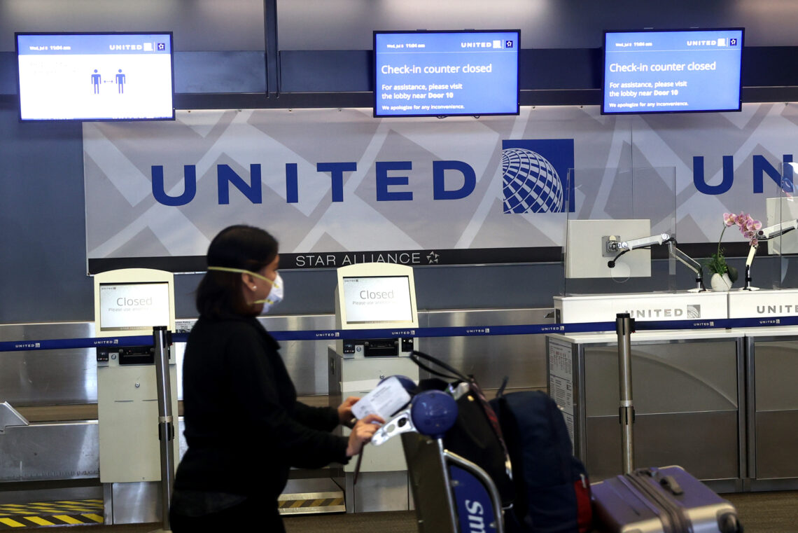 United Airlines plans largest domestic schedule since March 2020