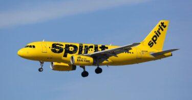 Manchester-Boston Airport et myrtus Beach volatus in Spiritu Airlines nunc