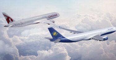 कतर एयरवेज और रवांडएयर के नए कोडशेयर सौदे के साथ किगाली से दोहा नॉनस्टॉप उड़ानें अब
