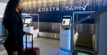 Delta presenta un nuevo vestíbulo exclusivo de TSA Precheck, entrega de equipaje.