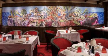 Ратэрдам Holland America - гэта плавучая мастацкая галерэя коштам 4.1 мільёна долараў.