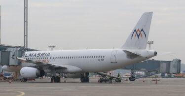 Lidojumi no Šarm eš Šeihas uz Maskavas Domodedovas lidostu ar AlMasria Universal Airlines tūlīt