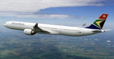 South African Airways: Ya los ntawm Johannesburg mus rau Mauritius tam sim no