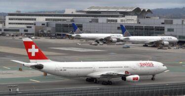 Genfből New Yorkba a SWISS és a United Airlines járatai most.